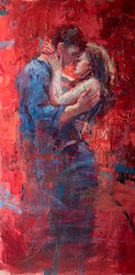 Ode to Joy by Henry Asencio - Original Painting on Board sized 24x48 inches. Available from Whitewall Galleries